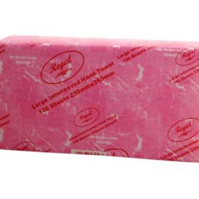 Regal Large Interleaved Hand Towel 100 Sheet X 24 Packs
