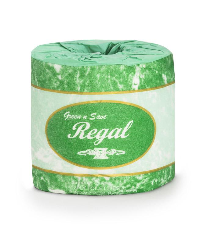 Green N Save Toilet Roll 2 Ply 400 Sheet 48 Rolls