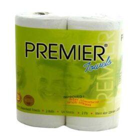 Trusoft Premier Kitchen Towel Recyc 2 Ply 60 Sheet 20 Rolls