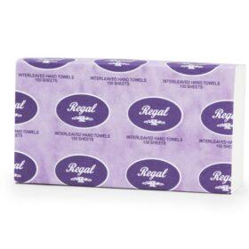 Regal Interleaved Hand Towel 150 Sheet X 16 Packs