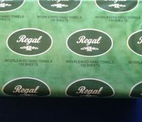 Regal White Interleaved Hand Towel 150 Sheet 16 Packs