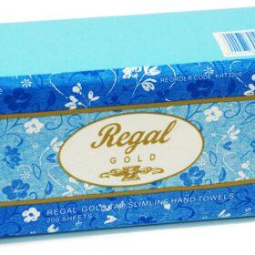 Regal Gold Tad Slim Hand Towel 200 Sheet 16 Packs