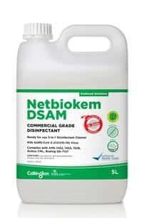 Netbiokem DSAM Commercial Grade Disinfectant - 4 x 5L