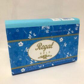 Regal Gold TAD Interleaved Hand Towel 120 Sheet 20 Packs