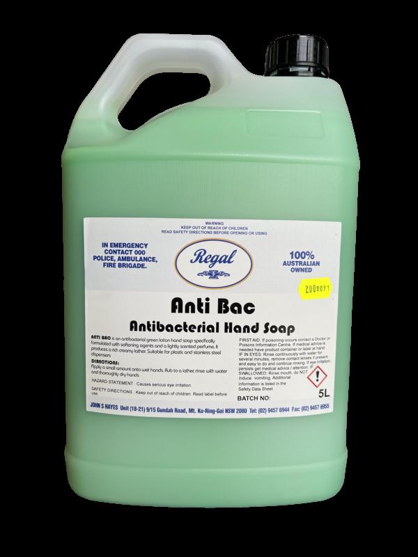 Regal Pearl Antibacterial Soap 5L