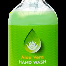 Hand Wash Aloe Vera Anti-bacterial Pump Bottle 500ml x 6