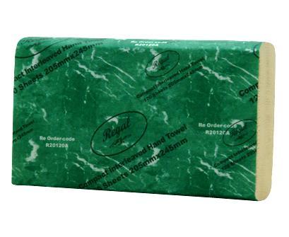 Regal Compact Hand Towel 120 Sheet x 20 Packs