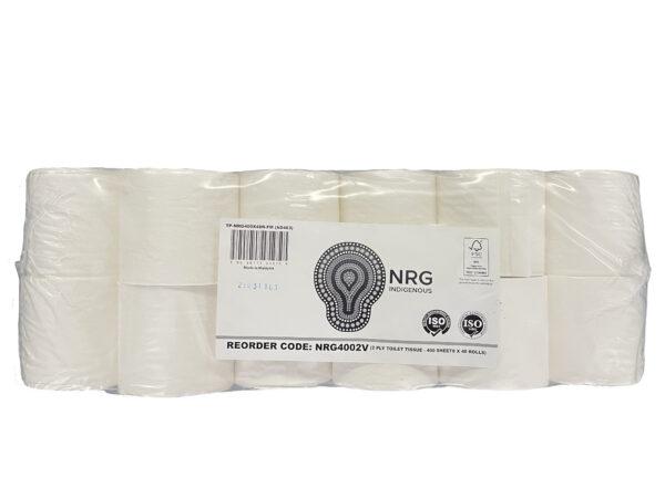 Luxury Toilet Roll 2 Ply 400 Sheet X 48 Rolls
